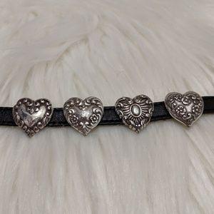 Brighton Jewelry - Vintage Brighton Leather Bracelet